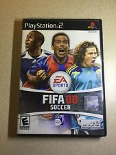 FIFA Soccer 08 PS2 (Sony PlayStation 2, 2007). With Case and Manual