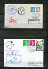 Filatelia Polar base Antártica Juan Carlos I y Gabriel Castilla 6 sobres