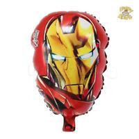 Marvel Avengers Iron Man super Hero  X 4 Balloons Cartoon helium party birthday