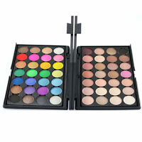 Fashion 28 Colors Eyeshadow Palette Smokey Makeup Eyes Nudes Cosmetic ChocolateT