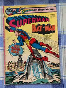 Superman Batman / 1976 Heft-Nr. 16 (Ehapa Verlag)