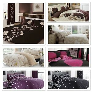 Duvet Cover With Pillow Case Quilt Cover Bedding Set Single Double and King Size