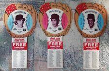1977 Pepsi - Cola Disc Cards, NY Mets, Kingman Matlack & Tom Seaver