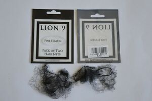 LION HAIR NETS (2 PER PACK) FOR BALLET, DANCE,GYMNASTICS IN 5 SHADES/COLOURS