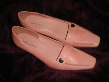 daniel hechter brand new pink real leather shoes brand new
