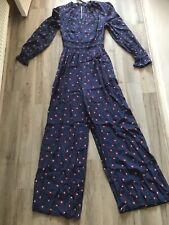 UK Size 6-16 New Marks /& Spencer Ltd Edt Bardot Floral Jumpsuit