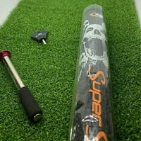 Super Stroke Skull Mid Slim Putter Grip Black / Orange  3.0 Countercore +50g wt!