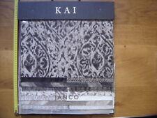 ANCIEN CATALOGUE ECHANTILLONS Kai Janco TISSUS AMEUBLEMENT Scrapbooking Loisirs
