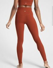 Athleta Ultra High Rise Elation Tight - Russet Brown / Size XS