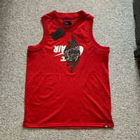 Nike Air Jordan Jumpman Basketball Jersey Mens Tank Top Shirt Size Large - $70