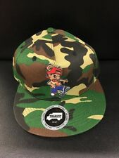 Trukfit NWT Lil Tommy Camo Prototype Sample Snapback Hat