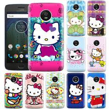 Dibujos Animados Anime Hello Kitty Creativo Lindo Teléfono Caso Cubierta para Motorola ZTE & Oppo