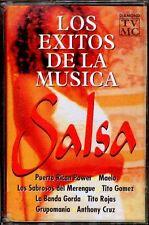 LOS EXITOS DE LA MUSICA SALSA - SPAIN CASSETTE Diamond 1998 - Tito Gomez, Maelo