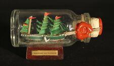 Alexander v. Humboldt Buddelschiff 10 ml 5x2 cm original Flaschenschiff Handmade