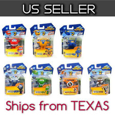 Super Wings Mini Transformer Robot 7 pcs Toy Set HOGI DONNIE JEROME BONG ..