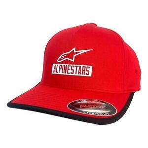Alpinestars NEW Men's Pre Season Cap - Red BNWT