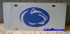 Penn State Nittany Lions Edelstahl Chrom Spiegel Vanity Kennzeichen