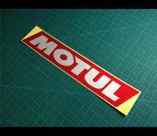MOTUL JDM RACING  high-performance motor Car bumper Decal Reflective Sticker