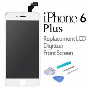 For iPhone 6 Plus Replacement LCD Touch Screen Display Digitizer Assembly White