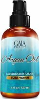 Virgin Argan Oil - Large 4oz - Moroccan Variety, Best All Natural Moisturizer