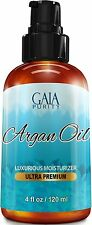 VIRGIN Argan Oil - Large 4oz - Moroccan Variety, Best All Natural Moisturizer