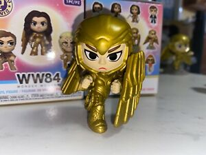 Funko Mystery Mini WW84 Wonder Woman 1984 Golden Armor Shield 1/72 RARE CHASE