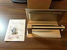 Home Xvl Toilet tissue paper holder w/ mobile phone storage shelf,Brushed Finish