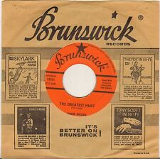 "JACKIE WILSON ""THE GREATEST HURT"" SOUL 60'S SP BRUNSWICK 55221"