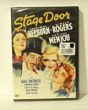 Stage Door DVD Katharine Hepburn Ginger Rogers NEW AUTHENTIC REGION 1