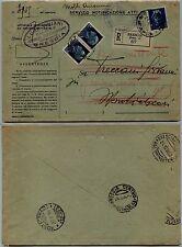 REGNO-SERVIZI GIUDIZIARI-Racc. 35c+coppia 1,25 lire(250/253) Padova 21.10.1938