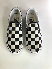 Vans Checkerboard Slip On Trainers - Size 4