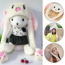 Rabbit Ear Hat Can Move Airbag Magnet Cap Plush Gift Record Video Dance Toy