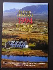 Island kompletter (Hauptnummern) postfrischer Jahrgang 1994 - b6576