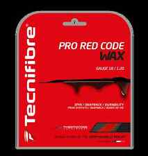 Tecnifibre Pro Red Code WAX - Tennis String - 12m - 1.20mm / 18G Set - RedCode