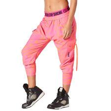 Zumba Beach Baller Harem Capri Pants XLarge NEW with tags