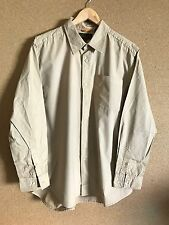 Men's Timberland Beige Long Sleeve Shirt Beige XL A11