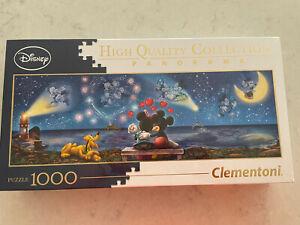 Panorama Disney Clementoni 1,000 Piece Puzzle - New in Box