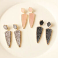 New Baublebar Drusy Drop Earrings Gift Fashion Lady Party Jewelry 3Colors Chosen