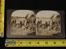Keystone Stereoview - Water Carriers Dipping Water - Nile, Egypt, c. 1910's