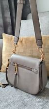 Marc Jacobs Crossbody Small Recruit Nomad Leather Bag In Mink colour