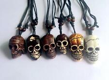 Wholesale lots 12 Pc punk Tibet hell skull head fashion jewely  Pendants