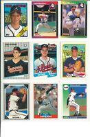 Lot 3 of (47) Tom Glavine Cards w/ Rookies RC & Inserts MLB Atlanta Braves