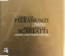 Enrico Pieranunzi plays Domenico Scarlatti CD Sonatas And Improvisations - Promo