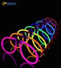 50 Aviator Lumistick Glow Eyeglasses 8 Color Assorted Mix Glows 8 - 12 hrs New