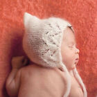 Baby Mohair Hollow Out Hat Newborn Girls Boys Photo Photography Prop Outfits New