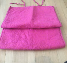 World Market Quilted Standard Shams Set Of 2 Dark Pink/ Orange