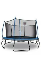 14' Trampoline Bounce Pro with Safety Enclosure and Basketball Hoop FAST SHIPPIN
