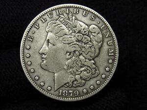 1879-O Morgan Silver Dollar NICE VF+