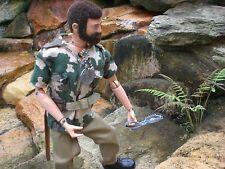 "Gi Joe Vintage ""TALKING"" Commander w/ Jungle Survival Set 1971"
