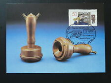 postal history telephone maximum card Germany ref 083-07 Kiel